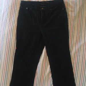 ralph lauren, black wash, mom cut, *VINTAGE* jeans